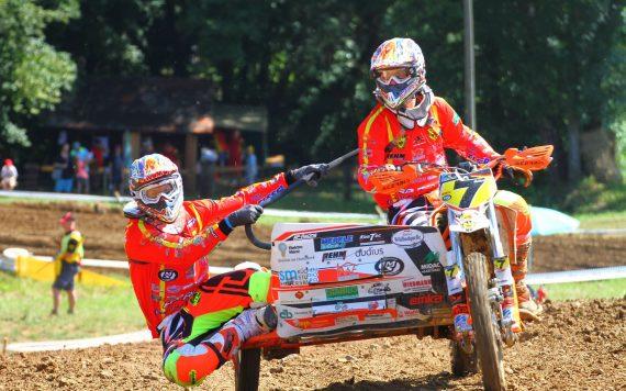 KonTec Sidecar Motocross Sponsor Aichtal