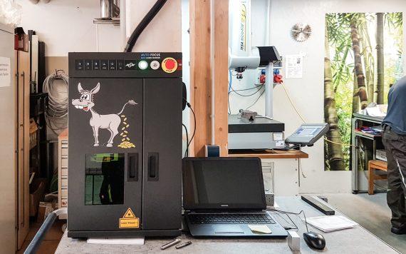 KonTec kauf Goldesel - Lasermaschine